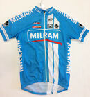 Milram Team Short Sleeve CYCLING JERSEY Made by Santini