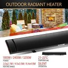 1800W/2400W/3200W MAXKON Electric Outdoor Radiant Heater Slimline Strip Bar Watt