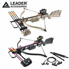 Leader Accessories Crossbow Package 160lbs 210fps Archery Hunting Bow w Arrows