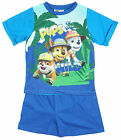 Boys Official Paw Patrol Pups of The Wild Marshall Shorty Pyjamas 1.5 to 5 Years