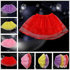 NEW SALE 1Pcs Kids Party Costume Princess Skirt Varies Colors