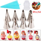 Lots Russian Flower Icing Piping Nozzles Cake Pastry Decorating Tips Baking Tool фото