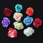 7CM Artificial Flowers Rose Head Use For Wedding Home Decoration DIY 9 Colors