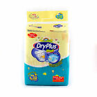 Dry Plus Disposable Baby Diapers Comfortable Size L Large 32 Count Soft