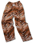 Cincinnati Bengals ZUBAZ Black Orange White Vintage Zebra Style Pants