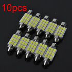 1/10pcs 39mm Festoon SMD 12V LED Auto Car Ligt Dome Reading Map Roof Bulbs Light