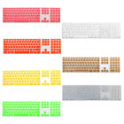Silicone Wire Keyboard Protector Film Cover w Numeric Keypad for Apple iMac
