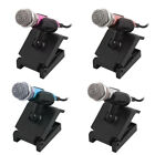 Portable 3.5mm Mini Smart Microphone Stereo Mic w Base for Phone Singing