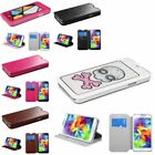 Color MyJacket Wallet Leather Case with Tray For SAMSUNG Galaxy S5 S V G900
