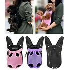 Legs Out Front Dog Carrier Hands Free Adjustable Pet Cat Puppy Backpack Carrier