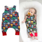 Newborn Baby Boy Girls sleeveless Romper Jumpsuit Toddler Summer Clothes Outfits