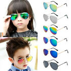 Boys Girl Kids Children Unisex Retro Glasses UV400 Polarized Aviator Sunglasses