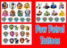 PAW PATROL TATTOOS waterproof LAST1 WEEK personalised tattoo sticker Marshall