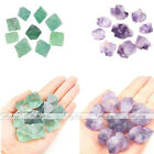 7-10pcs/set Natural Rough Irregular Green Raw Fluorite Amethyst Loose Gemstones