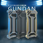 R-JUST Shockproof Gundan Metal Phone Case Cover For Samsung Galaxy S8/S8 Plus