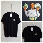 Actual Fact Tyson Money Embroidered Boxing Supreme Black Tee T-Shirt