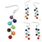 Women Fashion Luxury Earrings Beaded Earrings Rhinestone Sparkling Color Stones