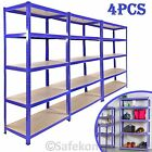 1 2 3 4 5x Bay 5 Tier Boltless Industrial Racking Garage Shelving Storage Shelve