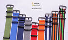 wholesale DB Black buckle 18-24mm Nylon Watch band watch strap 18color available