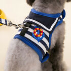 Pet Harness Dog Walking Lead Leash Collar Strap Strip Vest Apparel Clothes JR