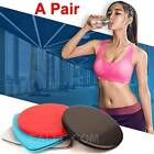 Gliders Bums Leg Slide Discs Core Sliders Fitness Workout Gym Exercise Training