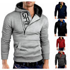 Men's Winter Slim Hoodie Warm Hooded Sweatshirt Coat Jacket Outwear Sweater   JR