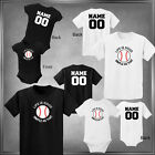 Baseball, Life is Good Personalize Back Infant 6M-Youth XL
