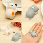 1Pc NEW RARE Cute Cat Mochi Bun Squishy Stretch & Squeeze  Stress Reliever Toy