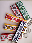 Collegiate College University Key Fobs Chains #1 You Choose 60+ Schools (A-G)