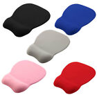 Cloth Gel Wrist Rest Support Memory Foam Mice Mouse Pad Mat for Computer Laptop