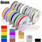 "6mm 1/4"" PinStriping Stripe Tape Car Motorcycle Body Works Trim Decal Stickers"
