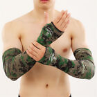 Внешний вид - 1pair Cooling Athletic Sport Skins Arm Sleeves Sun Protective UV Cover Golf Hot