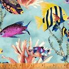 Windham Coral Reef Acquatic Quilt Fabric by Whistler Studios