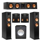 Klipsch 5.1 System with 2 RP-260F Tower Speakers, 1 RP-440C Center Speaker, 2 Kl