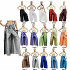 Trousers Thai Silk Palazzo Drive In Wrap Wide Leg Fisherman Sarong Harem Women