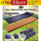 Self Inflating Mattress Air Bed Joinable Camping Hiking Sleeping Mat Single