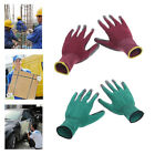 1Pair Knitted Wrist Safety Gloves Anti-slip Labour Work Factory Garden Repair