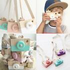 Wooden Toy Camera Kids Creative Neck Hanging Rope Toy Photography Prop Gift - LD