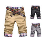 Summer Fashion Man Handsome Short Pants Cropped Trousers