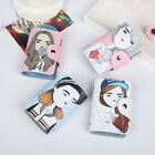 PU Leather Soft Cute Cartoon Credit Card Holder Case Wallet for Womens Girls Hot