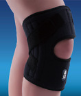 AQ Knee Stabiliser patella support neoprene side springs strap brace