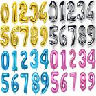 "16-40"" Giant Foil Number Balloons Wedding letter Air Helium Birthday Age Party"