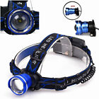5000lumens XM-L 3mod Rechargeable Headlamp T6 LED Headlight Lamp Hiking Outdoor