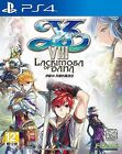 New Sony PS4 Games YS VIII LACRIMOSA OF DANA HK version Chinese Subtitle Only