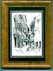 PIRATES ALLEY GALLERY CARD FRAMED- D DAVEY