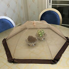 Pop Food Cover Kitchen Table Food Storage Umbrella BBQ Anti Insect Bugs Mesh Net