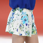 New Ladies Womens Girl Floral Flower Print Beach Hot Pants Shorts