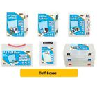TUFF BOXES - BOX FILES Organiser Folder Pocket Subject Storage Wallet{Tiger}