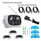 Pet Containment System Wireless Dog No-Wire Fence Rechargeable Waterproof B US