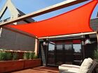 NEW MTN 24'x24' RECTANGLE SQUARE SUN SAIL SHADE CANOPY TOP COVER-CHOOSE